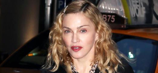 Madonna assiste à la représentation de «Holler If Ya Hear Me» à Broadway avec Timor Steffens [16 juin 2014 – Photos]