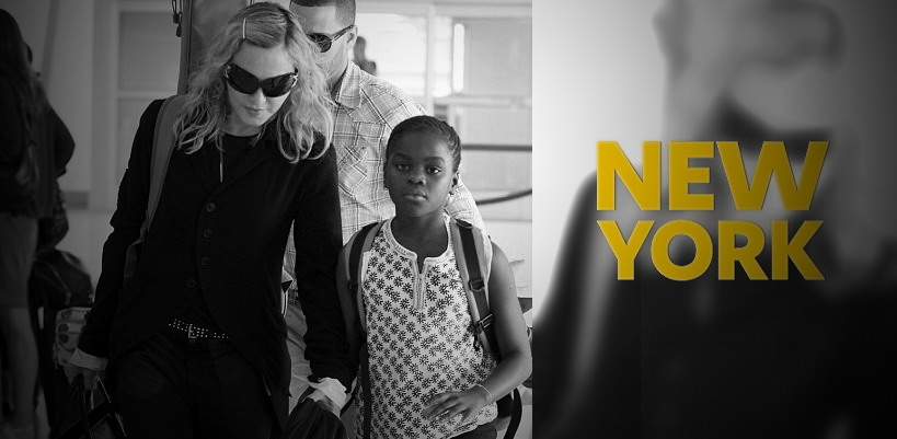 Madonna à l'aéroport de JFK, New York [28 juin 2014 - Photos]