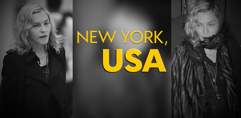 Madonna à l'aéroport JFK de New York  [27 août 2014 – Photos]