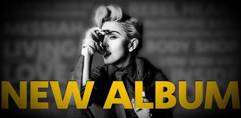Le nouvel album de Madonna prévu pour 2015