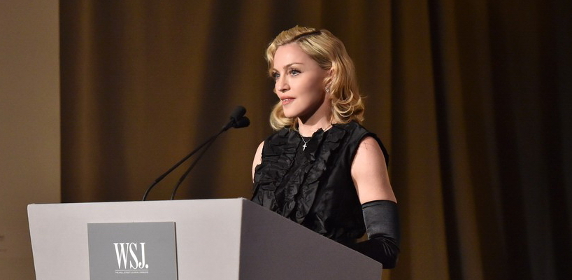 Madonna assiste à la soirée « Innovator of the Year » Awards à New York [5 Novembre 2014 – Photos]
