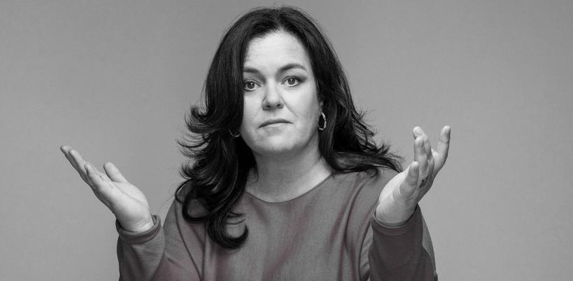 Rosie O'Donnell: Si mes tétés ressemblaient à ça, je serais déjà à poil !