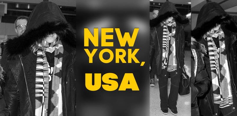 Madonna dans les rues de New York [23 Décembre 2014 - Photos]