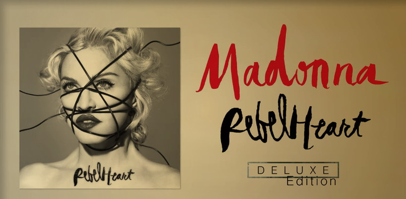 Six titres supplémentaires pour la «Rebel Heart» Super Deluxe Box !