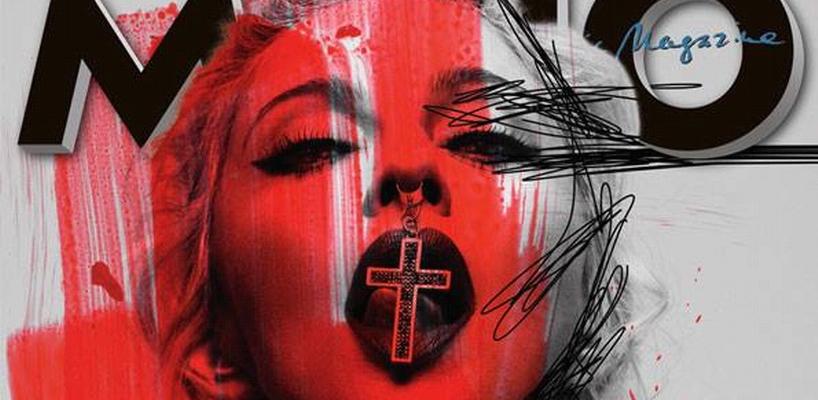 Madonna dans MOJO Magazine : J'aime Kanye West et Diplo car ils sortent du cadre de pensée commune