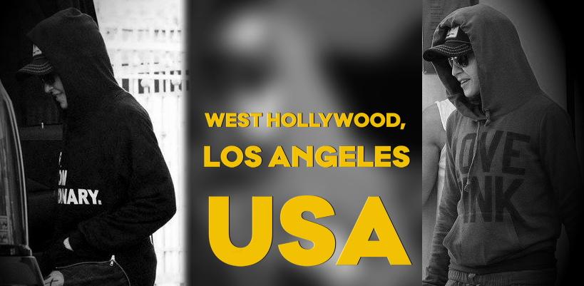 Madonna de sortie à Los Angeles [2-3 Février 2015 – Photos]