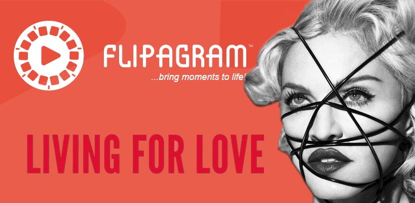 Rejoignez Madonna sur Flipagram et créez votre propre «Living For Love»