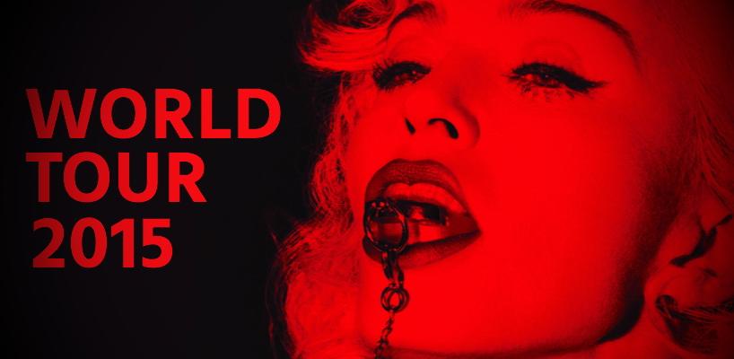 Amazon Allemagne annonce des préventes pour la prochaine tournée de Madonna