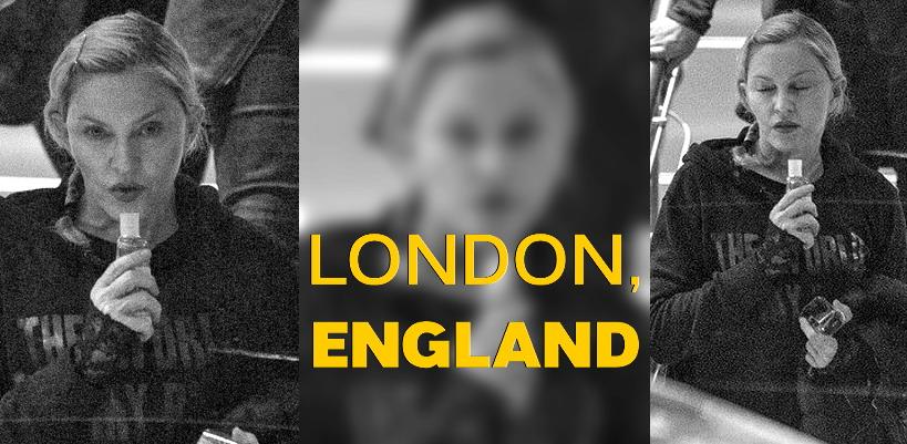 Madonna quitte les répétitions du O2, Londres [22 Février 2015 – Photos]