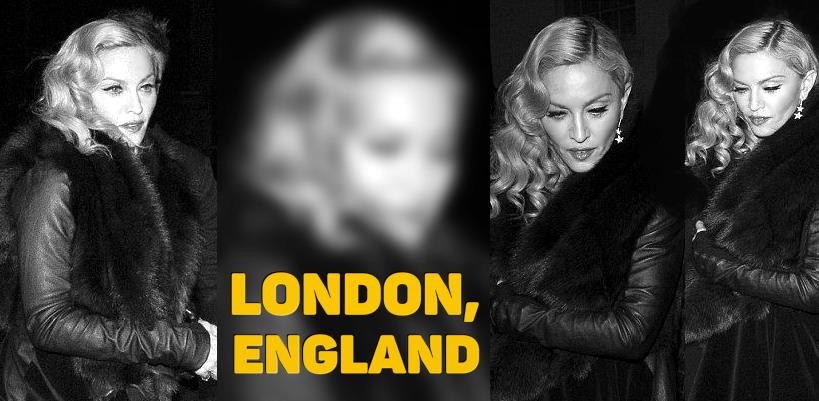 Madonna chez Annabel's à Londres [26 Février 2015 – Photos]