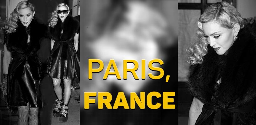 Madonna dans les rues de Paris [02 Mars 2015 - Pictures]