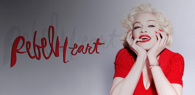 Gagnez des promo packs Rebel Hearts avec Madonnarama