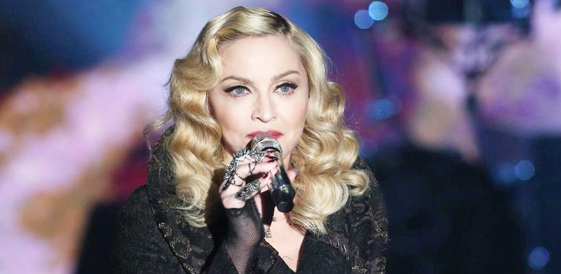 Madonna sur Che Tempo Che Fa [Photos & Vidéos]