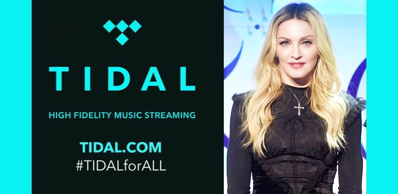 [Mise à jour: Photos & Vidéos] Madonna relance Tidal, le service de musique HD en streaming