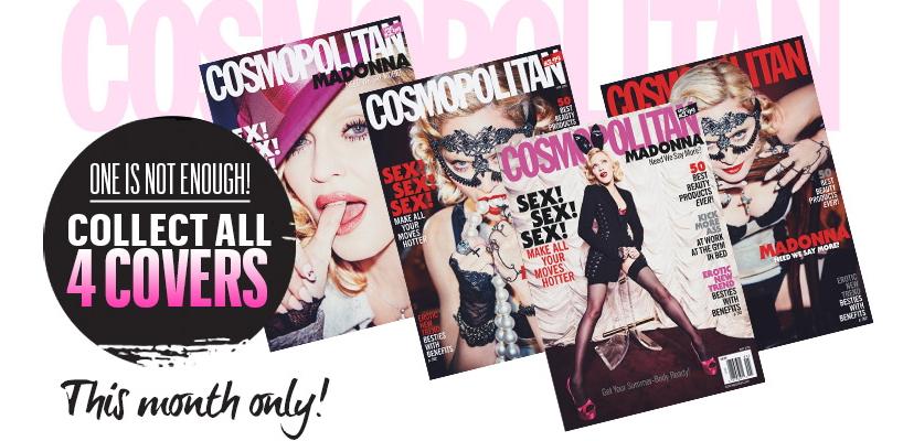 [Mise à Jour : Scans HQ – Edition turque] Madonna par Ellen von Unwerth pour Cosmopolitan [Mai 2015]