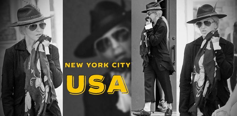 Madonna dans les rues de New York [11 juillet 2015 – Photos]