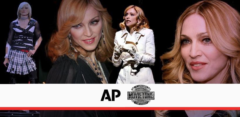 D'importantes vidéos Madonna débarquent sur YouTube