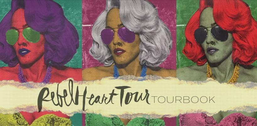 Madonna – Rebel Heart TourBook [HQ – 24 Photos]