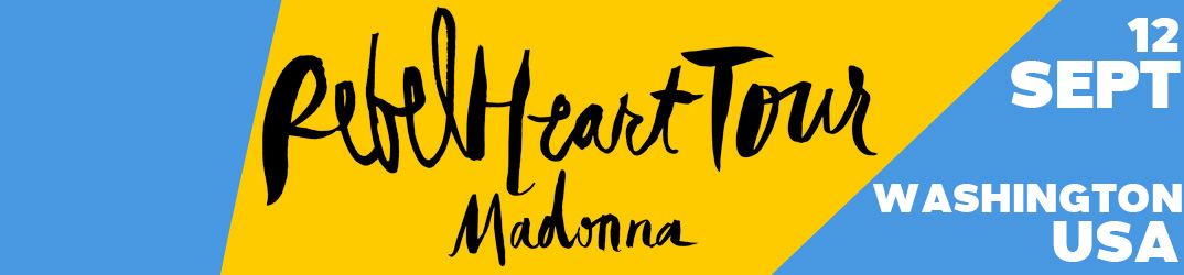 Rebel Heart Tour Washington 12 septembre 2015