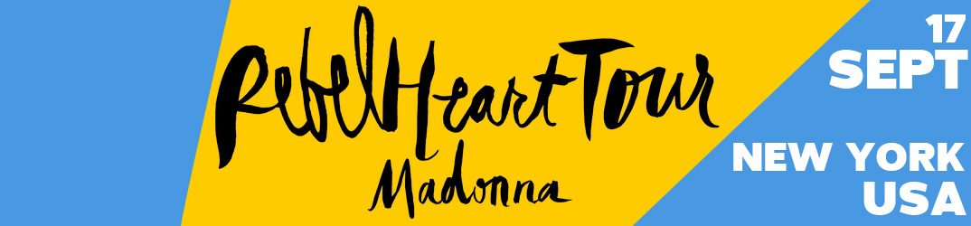Rebel Heart Tour New York 17 septembre 2015