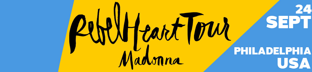 Rebel Heart Tour Philadelphie 24 septembre 2015