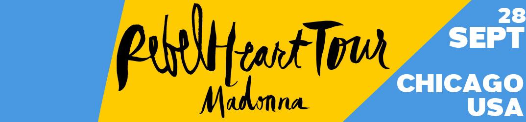 Rebel Heart Tour Chicago 28 septembre 2015
