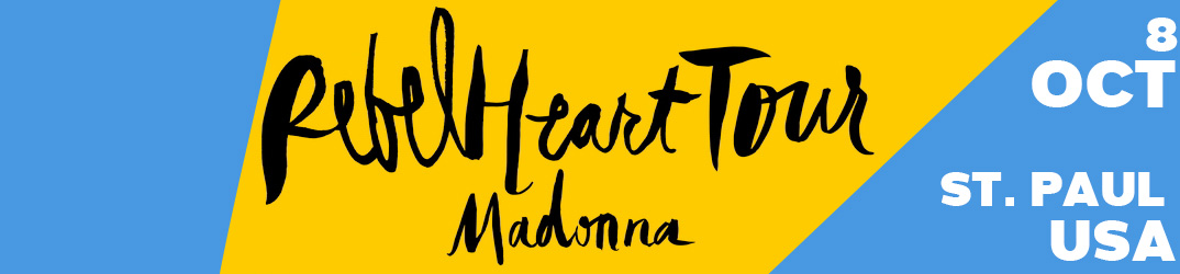 Rebel Heart Tour St. Paul 8 octobre 2015