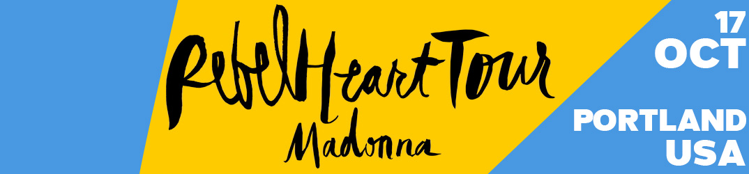 Rebel Heart Tour Portland 17 octobre 2015