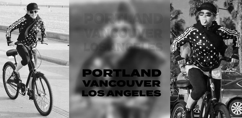 Madonna dans les rues de Vancouver, Portland et Los Angeles [Octobre 2015 – Photos]