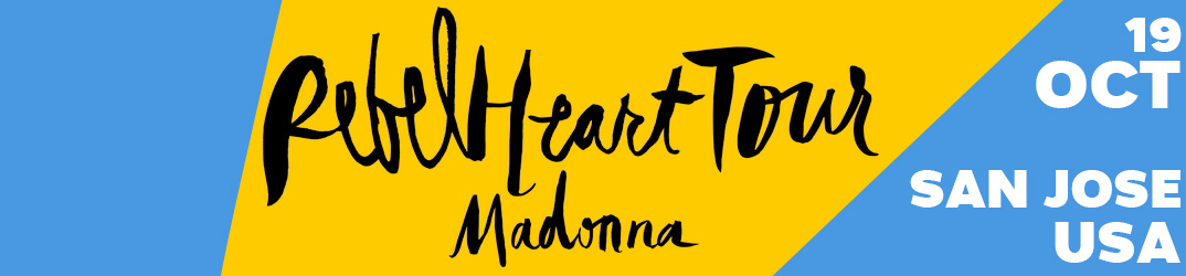 Rebel Heart Tour San Jose 19 octobre 2015