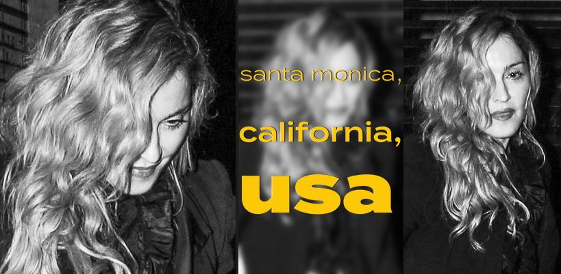 Madonna à la soirée d'anniversaire de Lourdes à Santa Monica [18 Octobre 2015 – Photos]