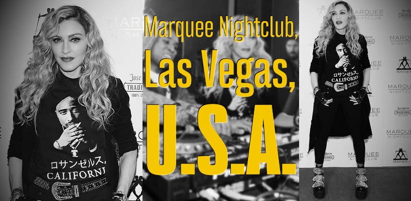 Madonna au Marquee Nightclub de Las Vegas [25 octobre 2015]