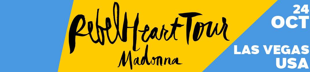 Rebel Heart Tour Las Vegas 24 octobre 2015