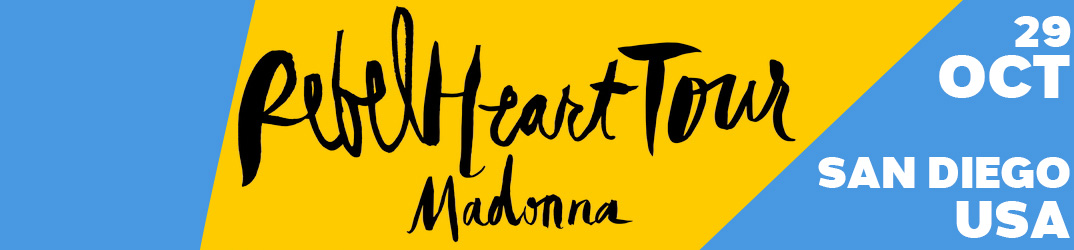 Rebel Heart Tour San Diego 29 octobre 2015