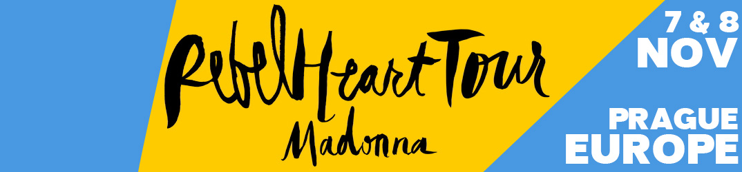 Rebel Heart Tour Prague 7 & 8 novembre 2015