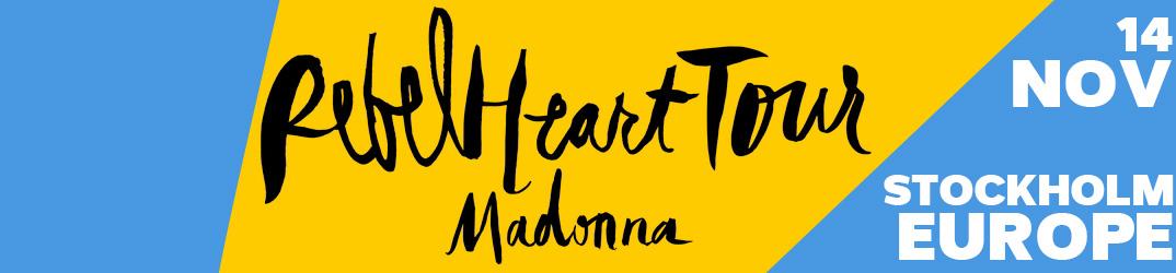 Rebel Heart Tour Stockholm 14 novembre 2015