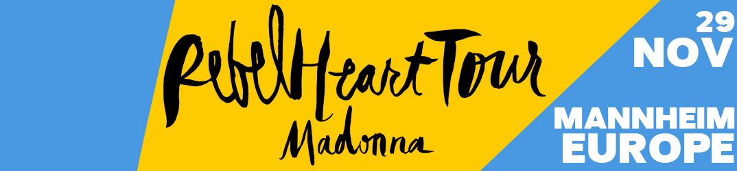 Rebel Heart Tour Mannheim 29 novembre 2015