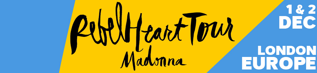 Rebel Heart Tour Londres 1 & 2 décembre 2015