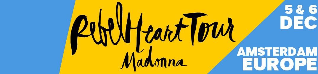 Rebel Heart Tour Amsterdam 5 & 6 décembre 2015