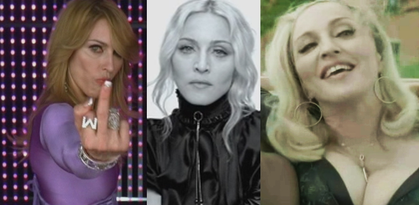 Neuf vidéos indédites : MDNA Tour, GMAYL, Turn up the Radio, Sticky & Sweet tour, etc.