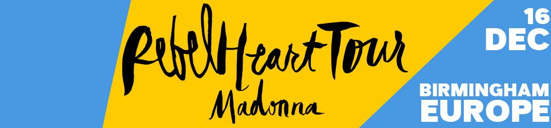 Rebel Heart Tour Birmingham 16 décembre 2015