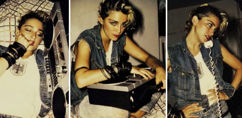 [Mise à Jour : Vidéo & nouvelles photos ajoutées] Les polaroïds de Madonna par Richard Corman