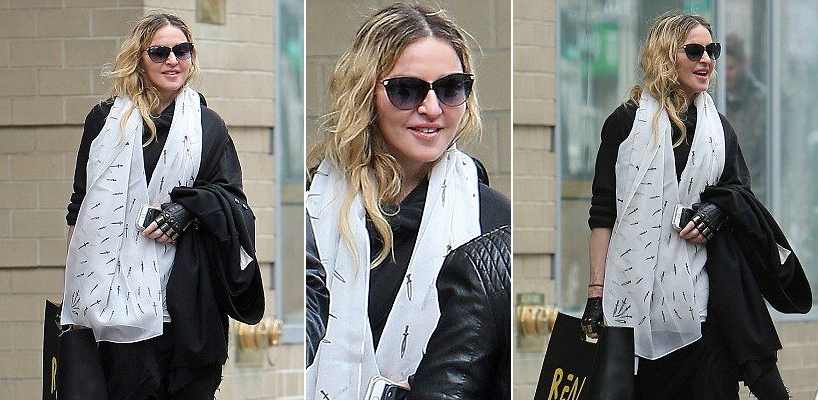 Madonna dans les rues de New York [1 avril 2016 – Photos]