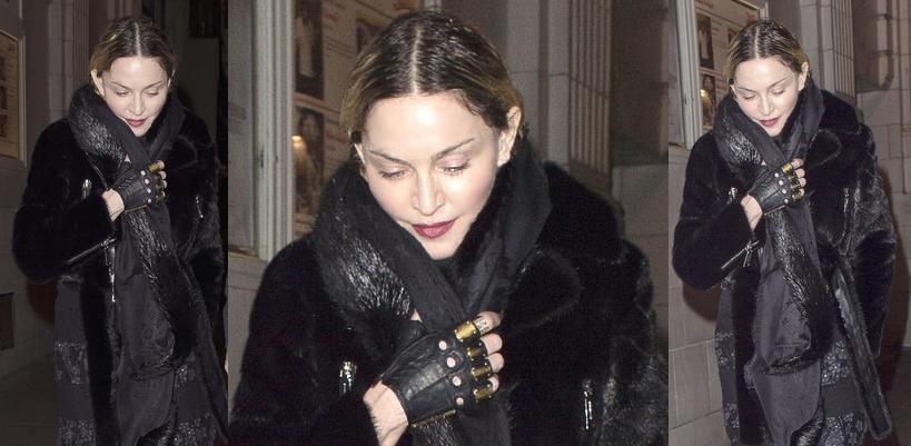Madonna et Rocco dans les rues de Londres [11 avril 2016 – Photos]