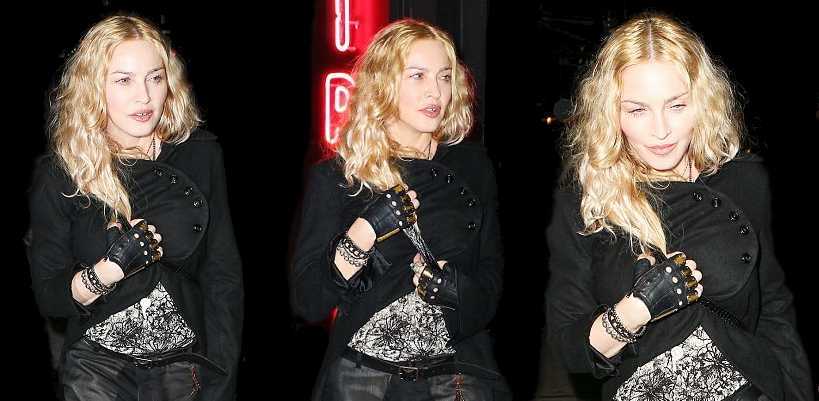 Madonna dans les rues de New York [7 May 2016 – Pictures]