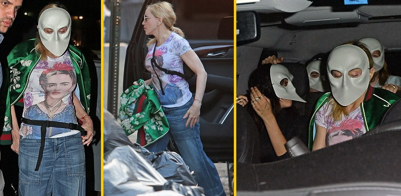 Madonna dans les rues de New York [31 mai 2016 - Photos]