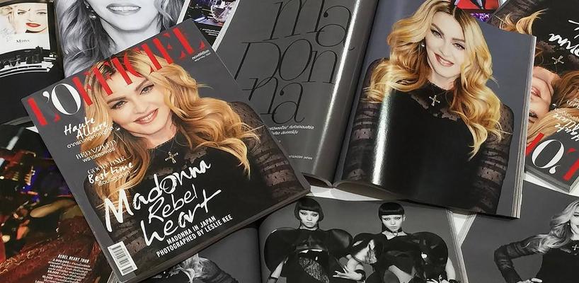 Madonna par Leslie Kee pour L'Officiel Thailande [Numéro de Mai 2016]