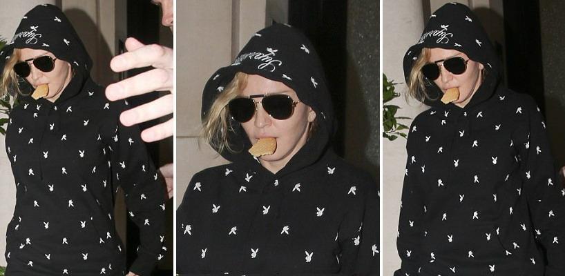 Madonna dans les rues de Londres [22 juin 2016 – photos]