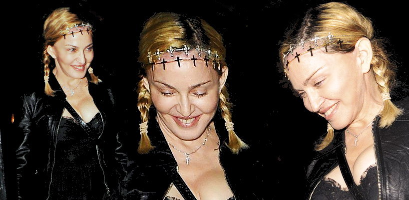 Madonna dans les rues de Londres [30 juin 2016 - Photos]