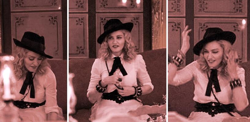Madonna au restaurant La Guarida – La Havane, Cuba [Août 2016 – Photos & Vidéo]